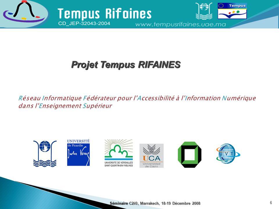 Projet Tempus RIFAINES
