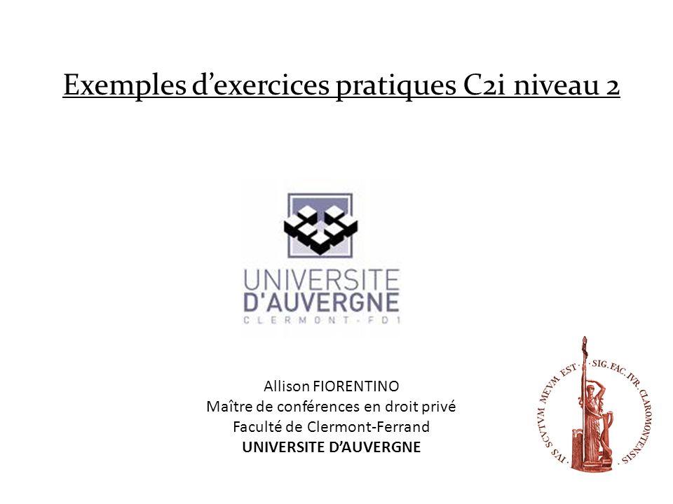 UNIVERSITE D'AUVERGNE