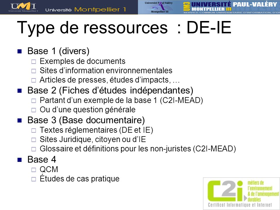 Type de ressources : DE-IE
