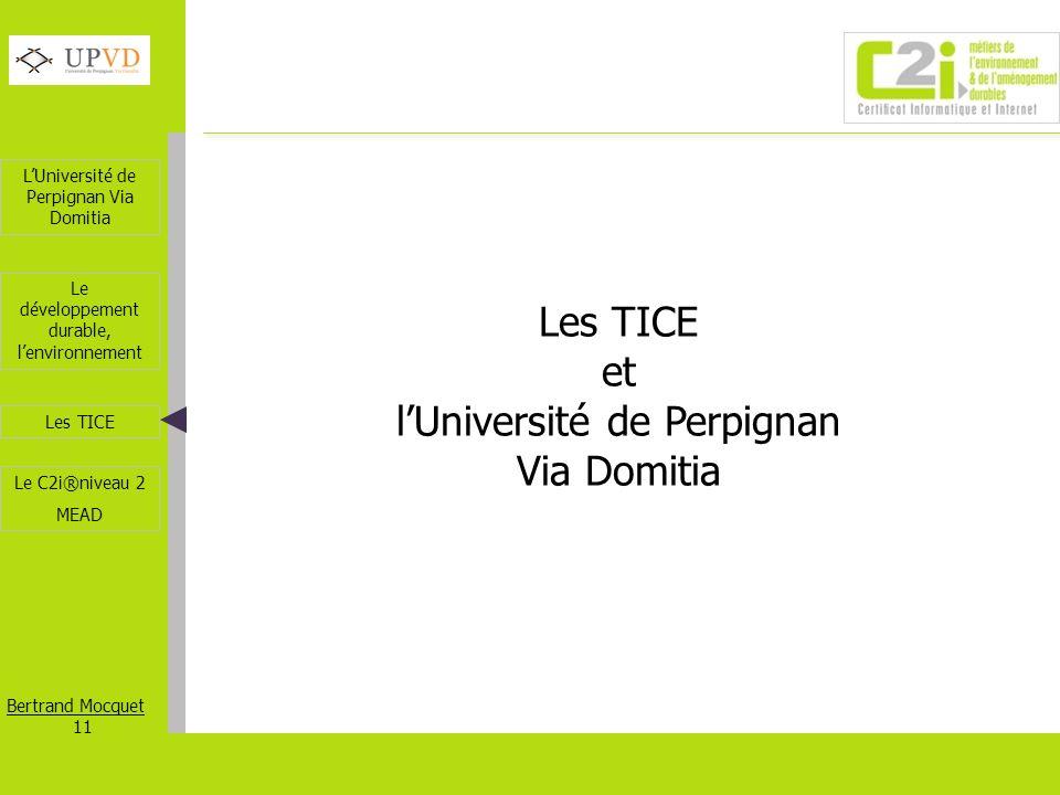 l'Université de Perpignan Via Domitia