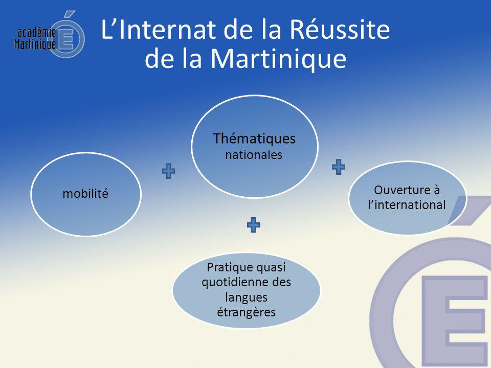 L'Internat de la Réussite de la Martinique
