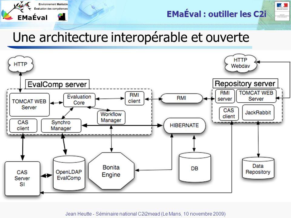 Une architecture interopérable et ouverte