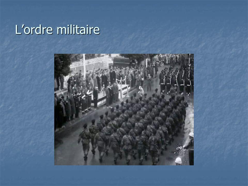 L'ordre militaire