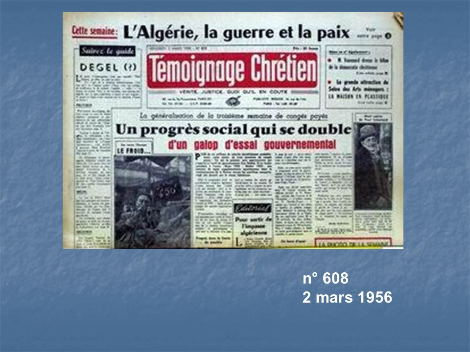 n° 608 2 mars 1956
