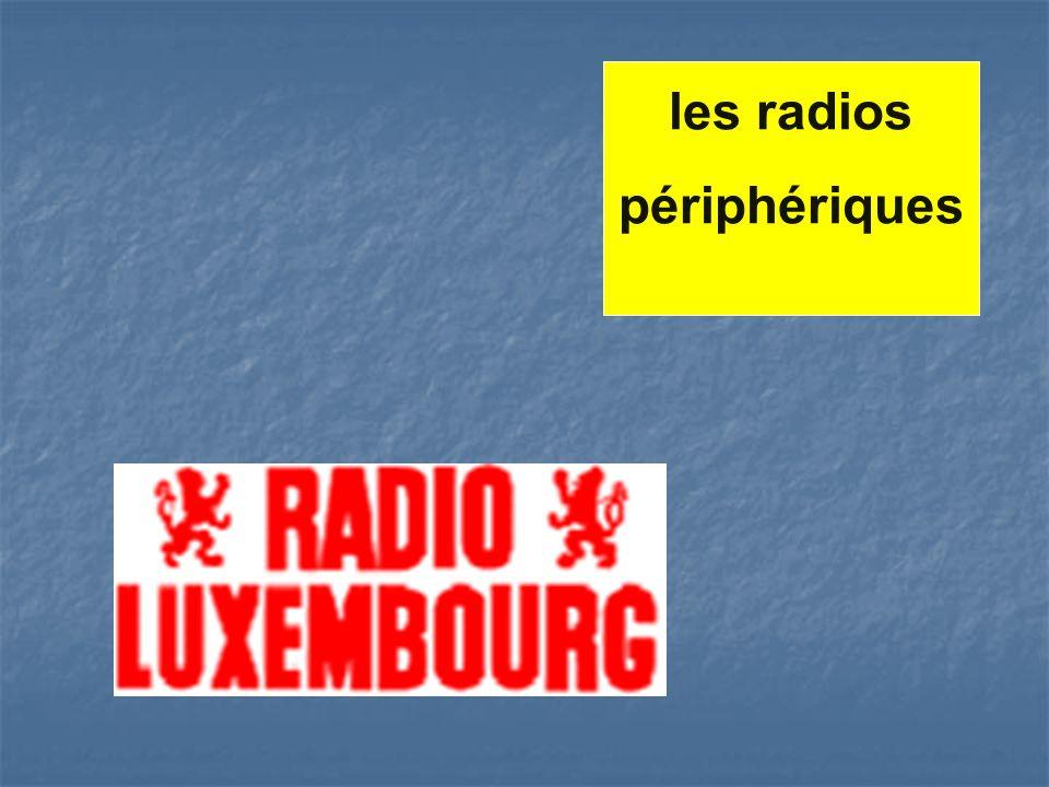 les radios périphériques