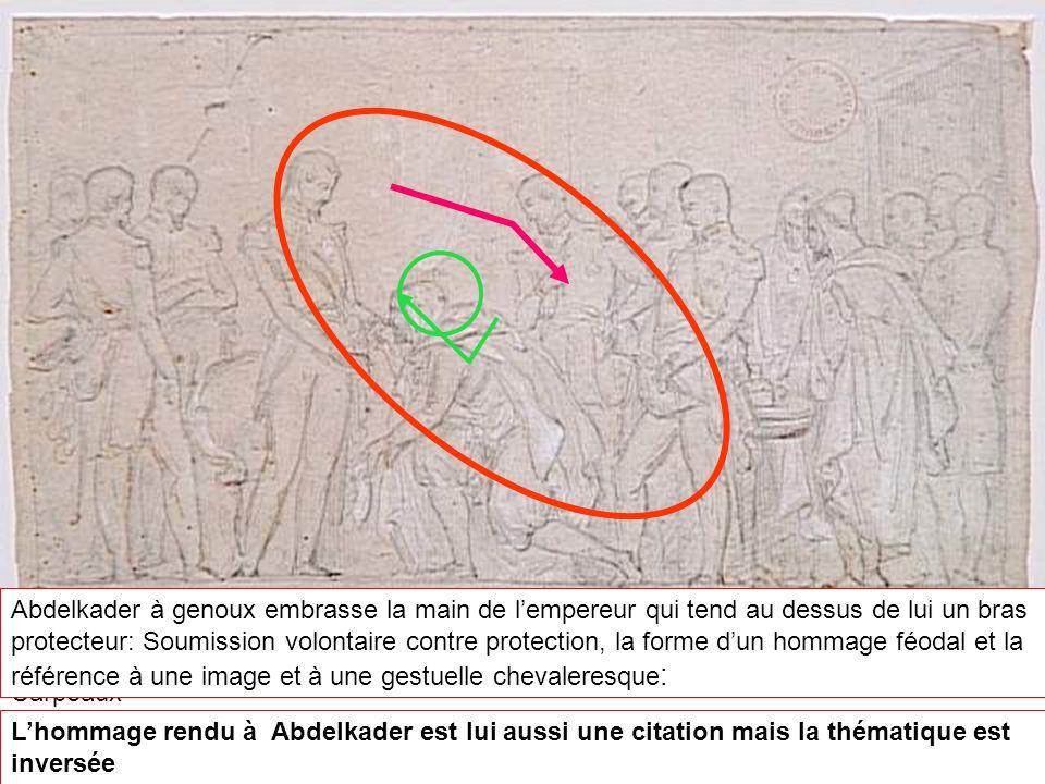 Jean-Baptiste CARPEAUX (1827-1875) La soumission d Abd el-Kader à Saint-Cloud