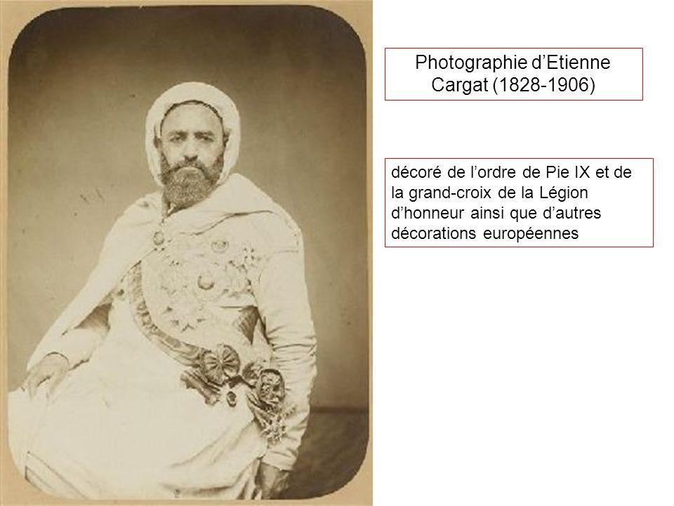 Photographie d'Etienne Cargat (1828-1906)