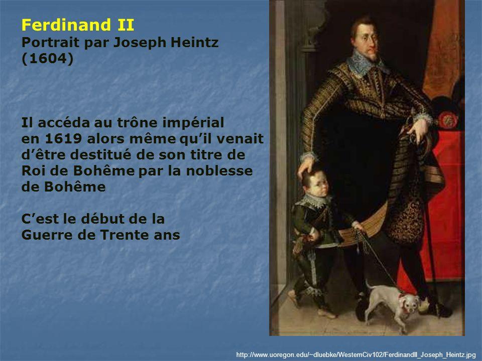 Ferdinand II Portrait par Joseph Heintz (1604)