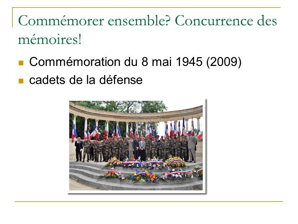 Commémorer ensemble Concurrence des mémoires!