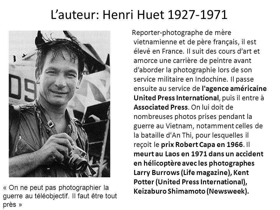 L'auteur: Henri Huet 1927-1971
