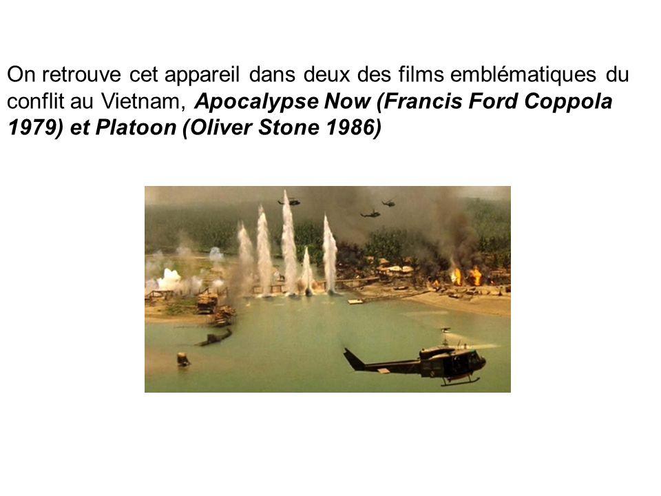 On retrouve cet appareil dans deux des films emblématiques du conflit au Vietnam, Apocalypse Now (Francis Ford Coppola 1979) et Platoon (Oliver Stone 1986)