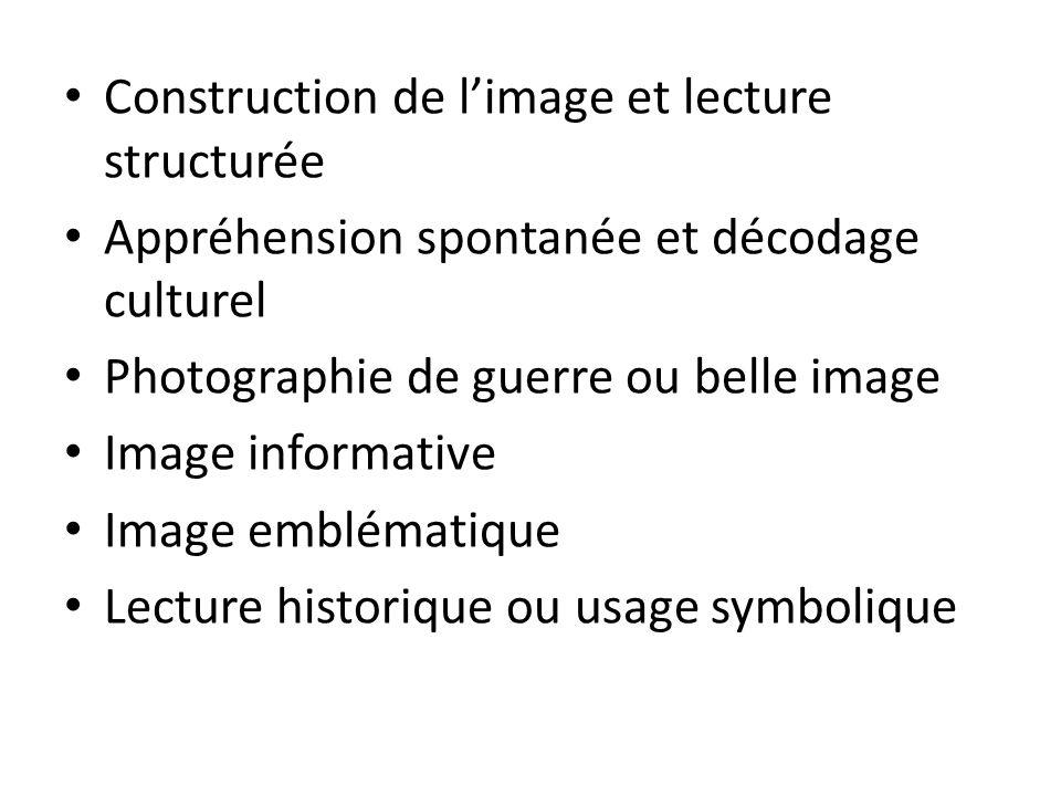 Construction de l'image et lecture structurée