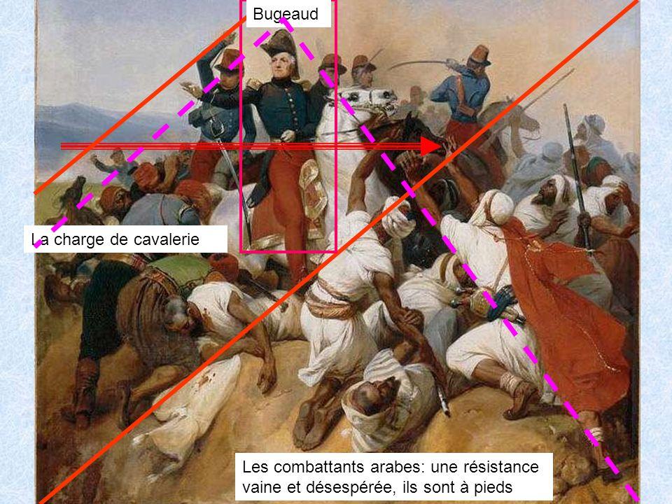 Bugeaud Horace VERNET (1789, 1863) Combat de la Sickak. (6 juillet 1836). 1840 peinture à l huile sur toile H 200 cm, L 153 cm.