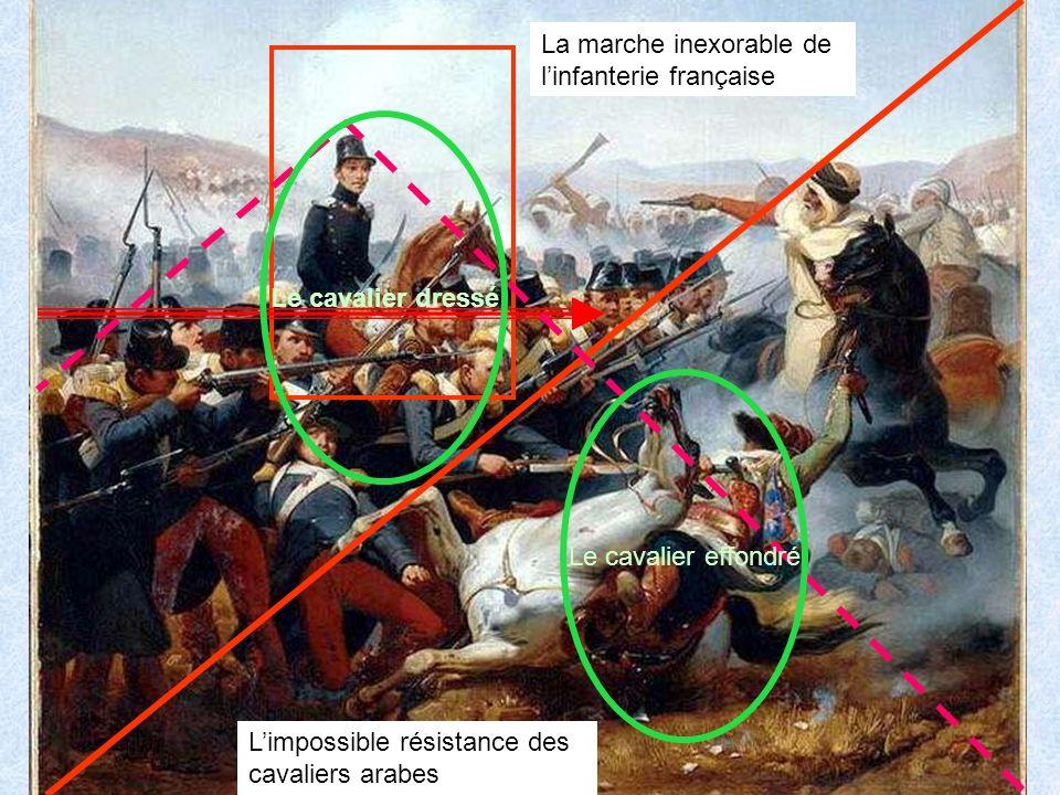 La marche inexorable de l'infanterie française