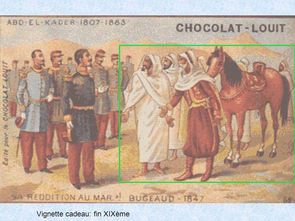 Vignette cadeau: fin XIXème