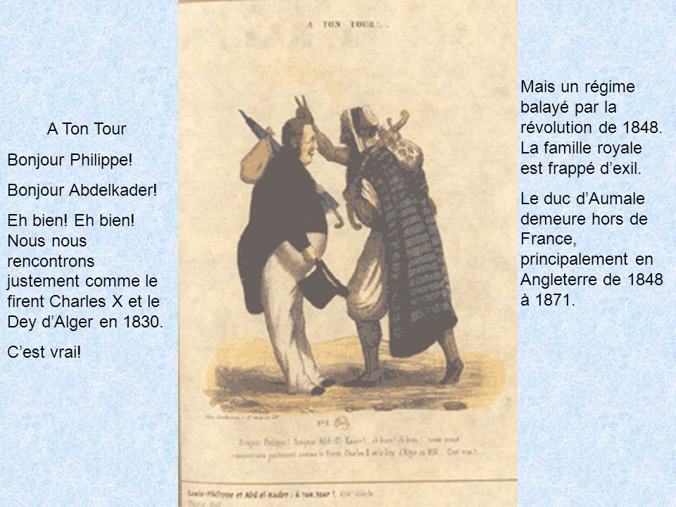 Mais un régime balayé par la révolution de 1848