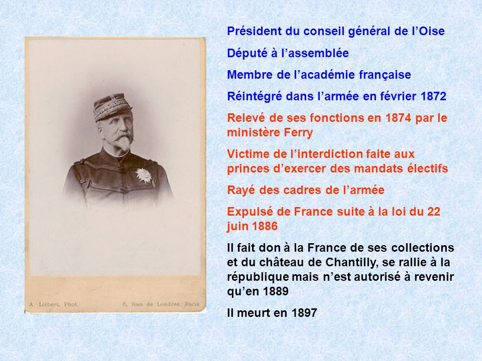 Président du conseil général de l'Oise