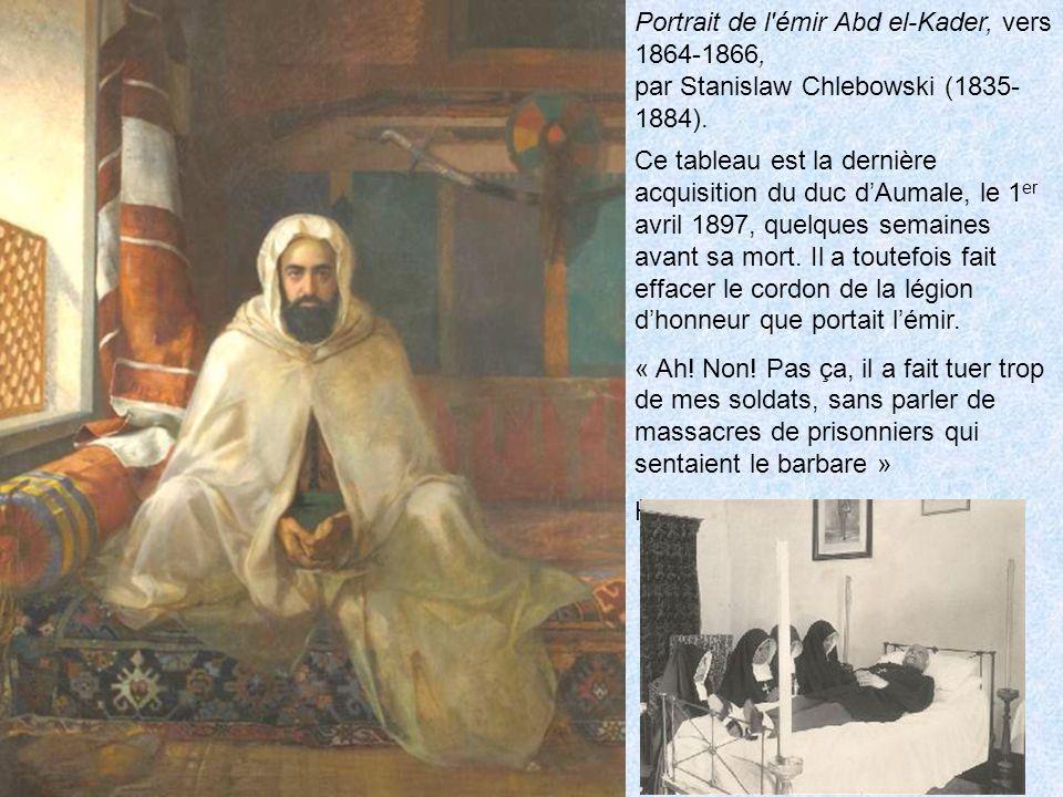 Portrait de l émir Abd el-Kader, vers 1864-1866,