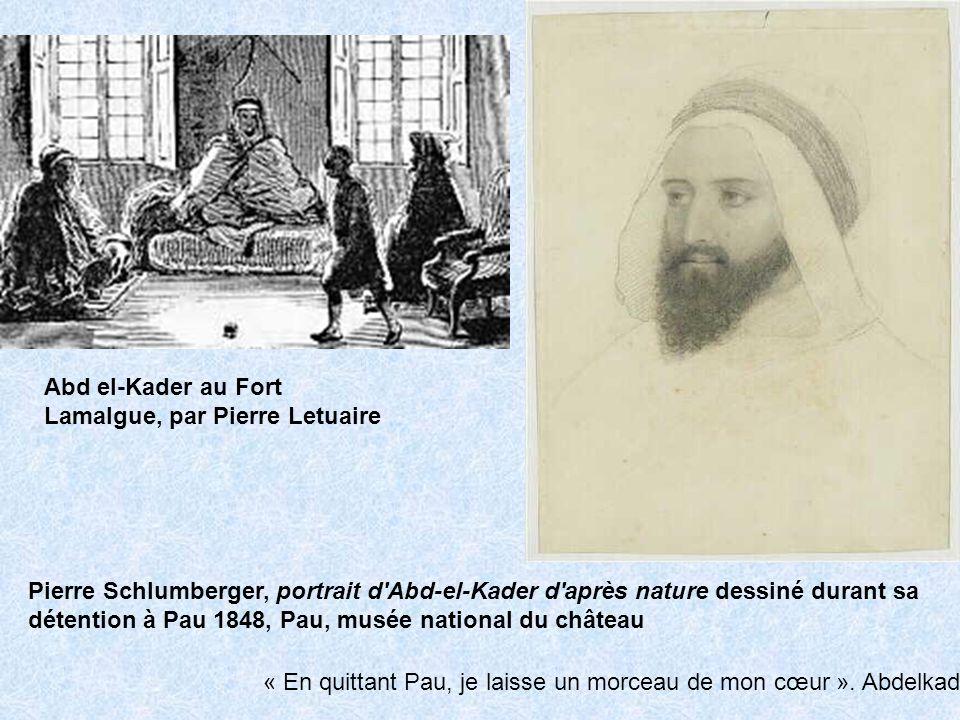 Abd el-Kader au Fort Lamalgue, par Pierre Letuaire