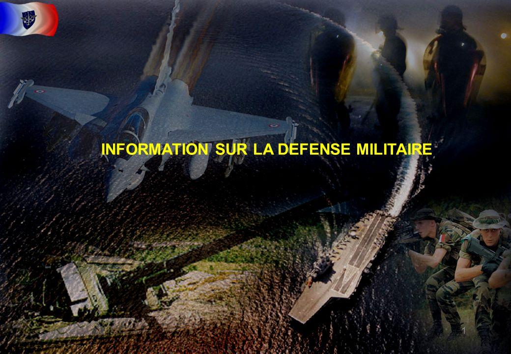 INFORMATION SUR LA DEFENSE MILITAIRE