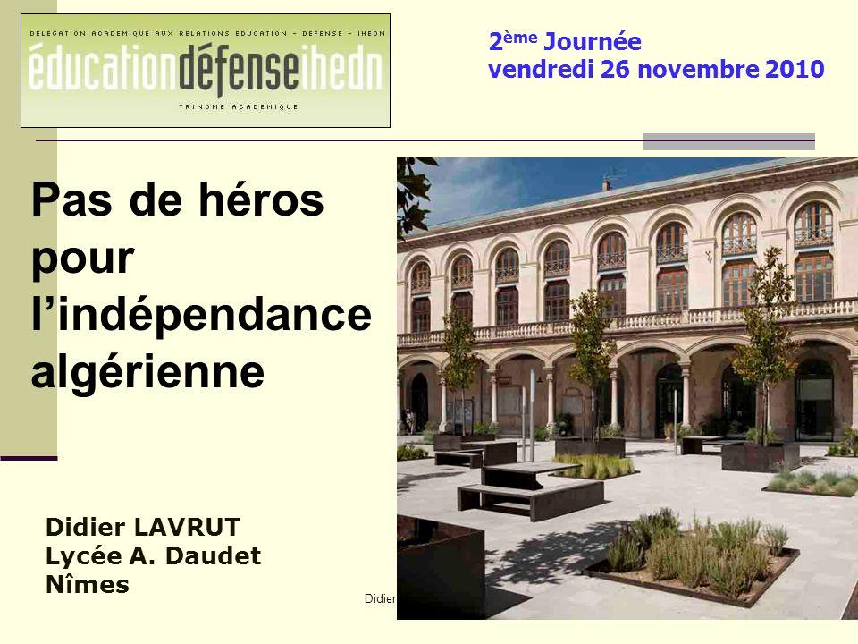 Didier Lavrut Lycée Daudet Nîmes