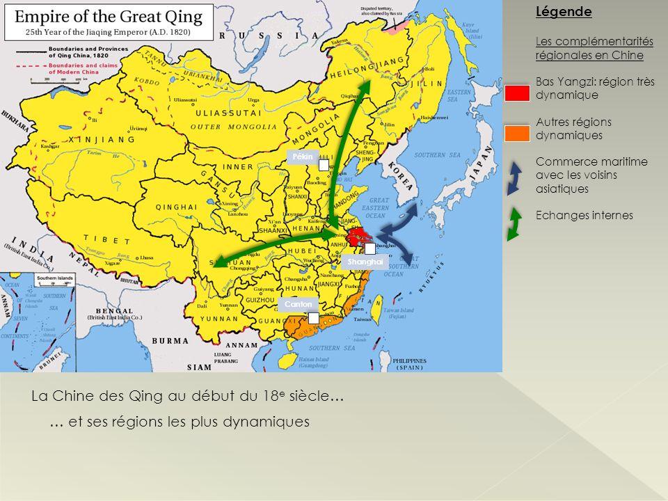 La Chine des Qing au début du 18e siècle…