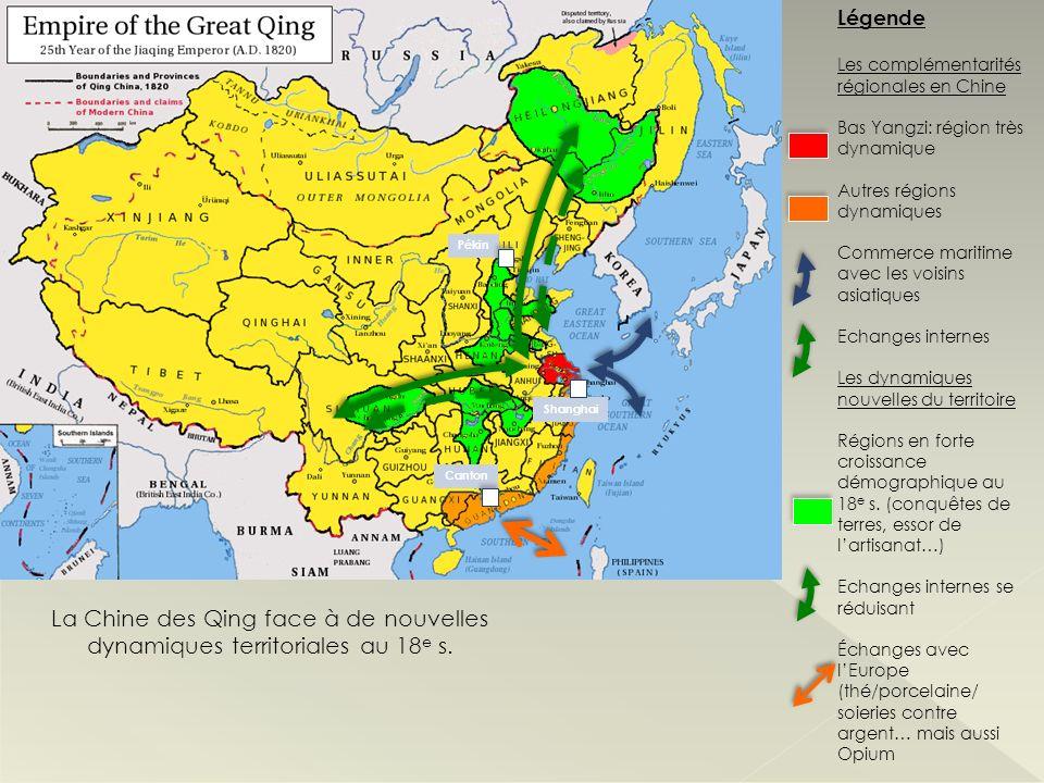 La Chine des Qing face à de nouvelles