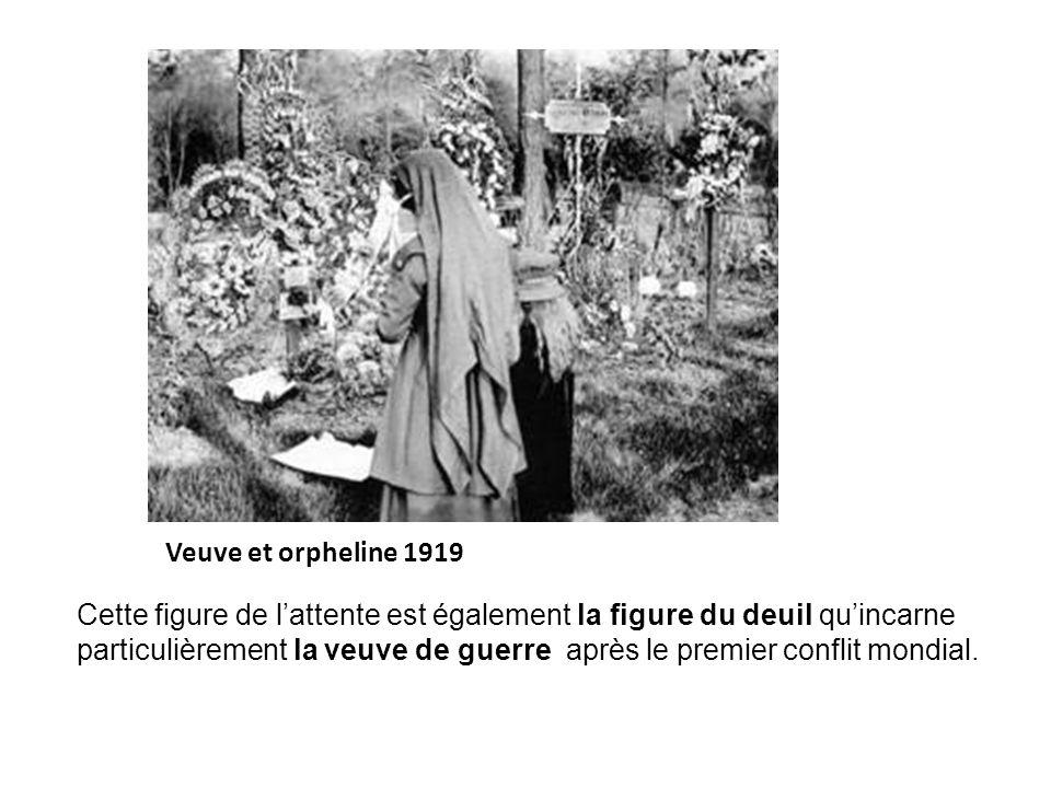 Veuve et orpheline 1919