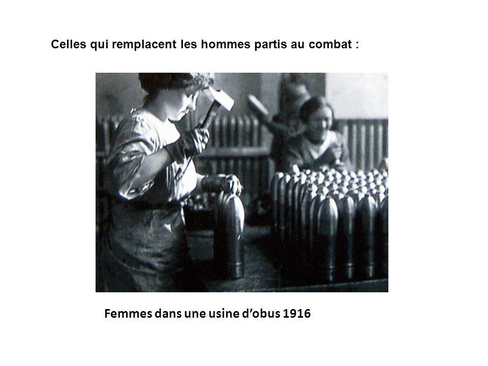 Femmes dans une usine d'obus 1916