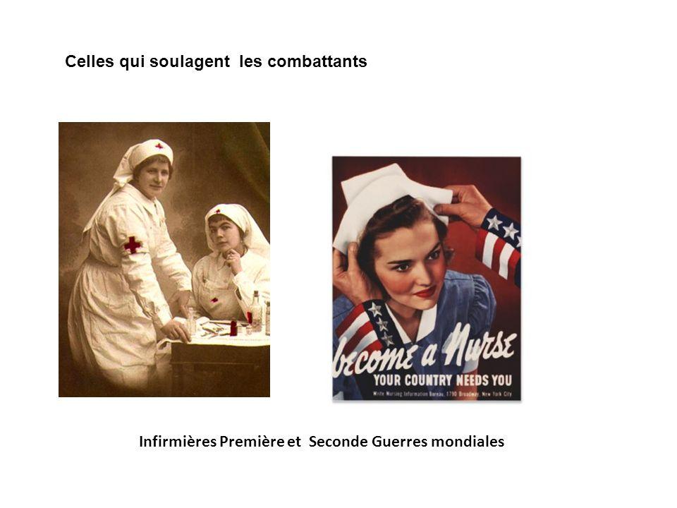 Infirmières Première et Seconde Guerres mondiales