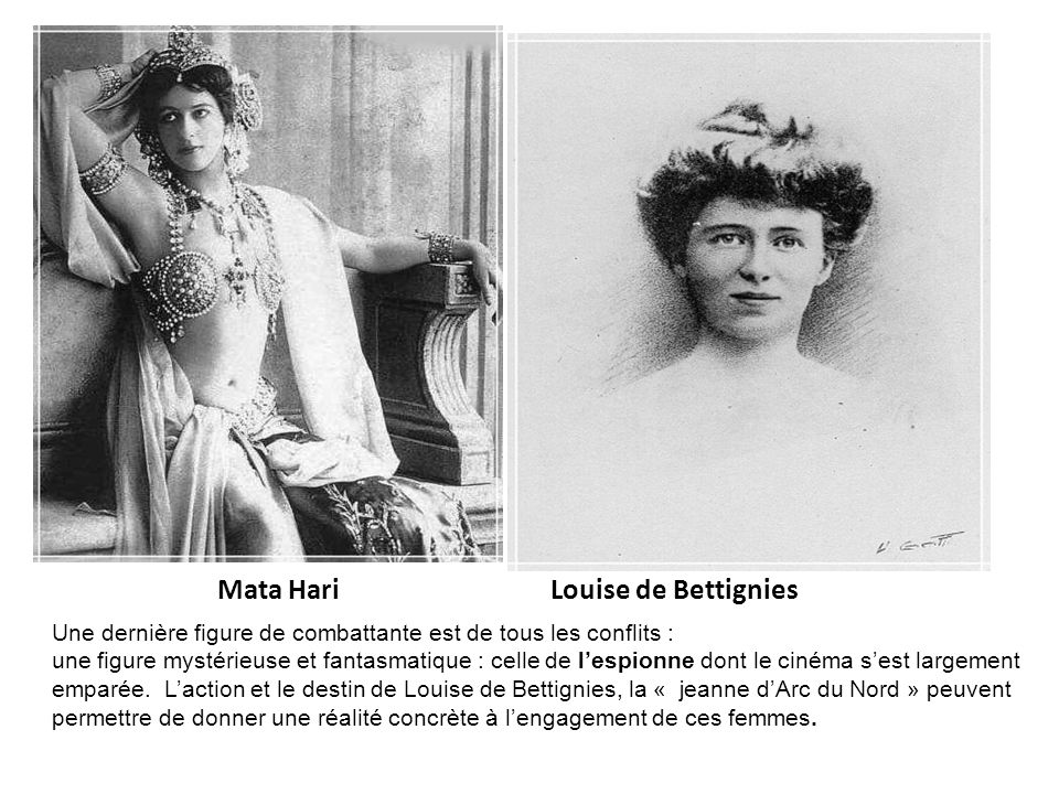 Mata Hari Louise de Bettignies