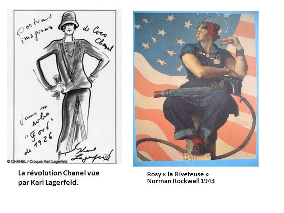 La révolution Chanel vue par Karl Lagerfeld.