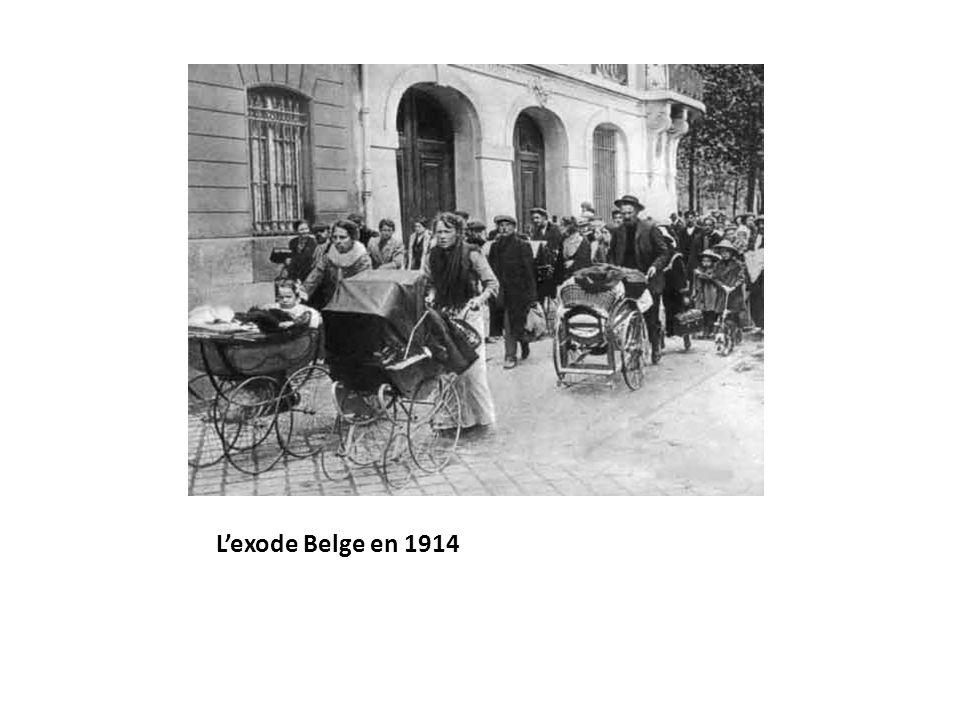 L'exode Belge en 1914