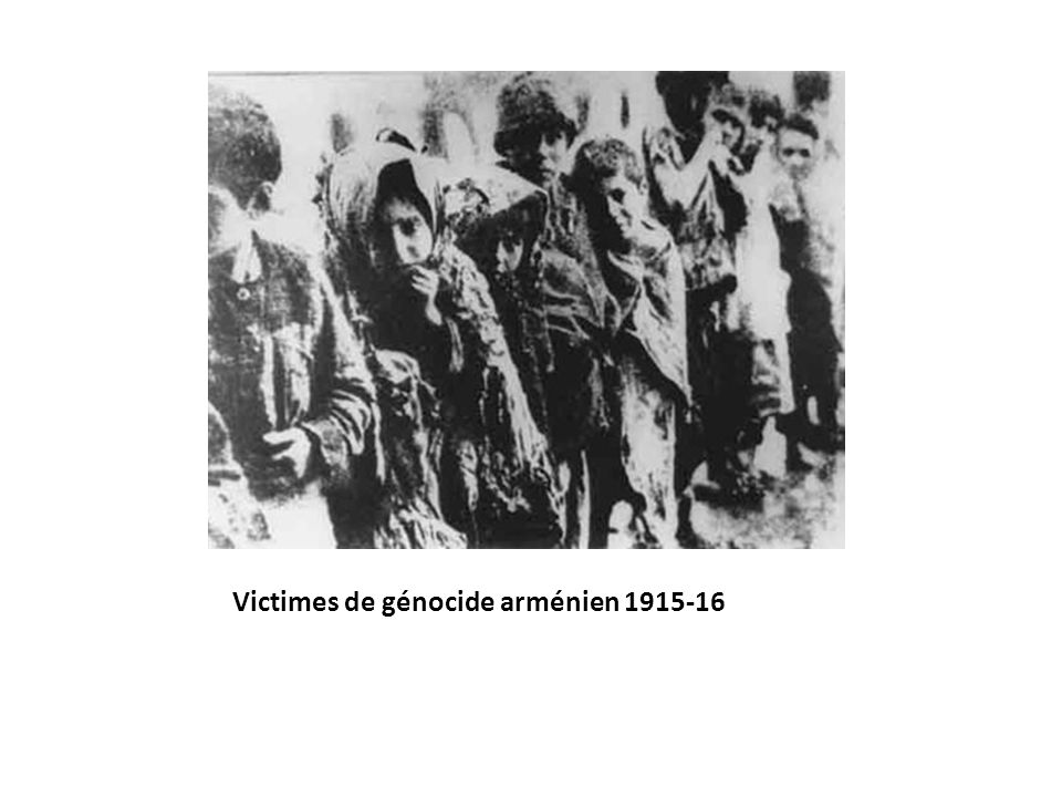 Victimes de génocide arménien 1915-16
