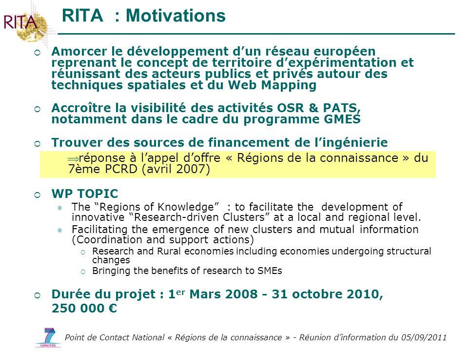 RITA : Motivations