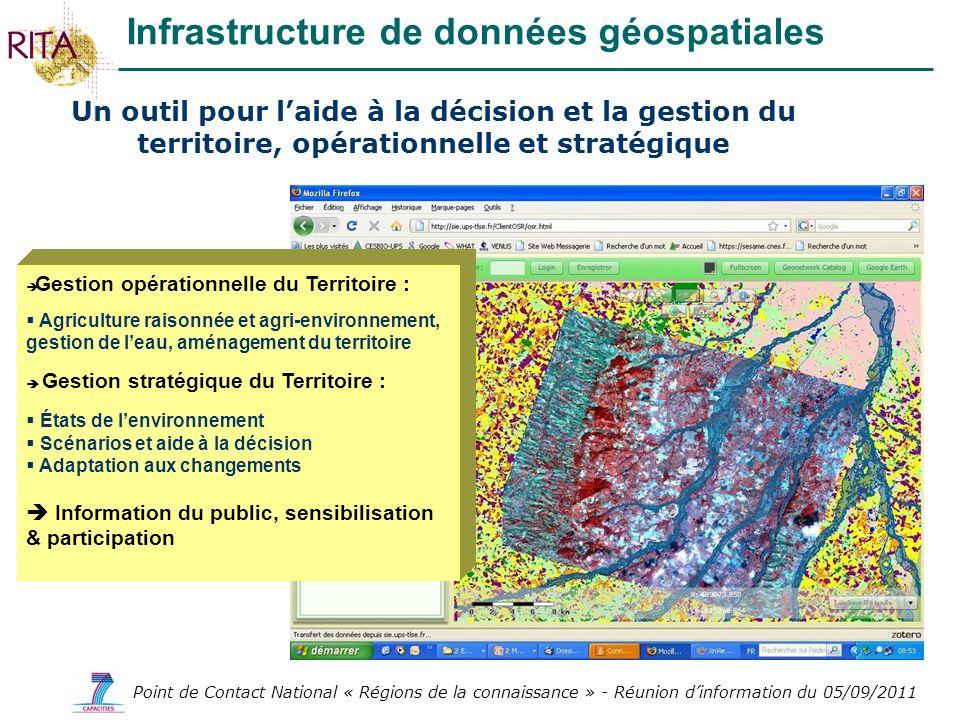 Infrastructure de données géospatiales