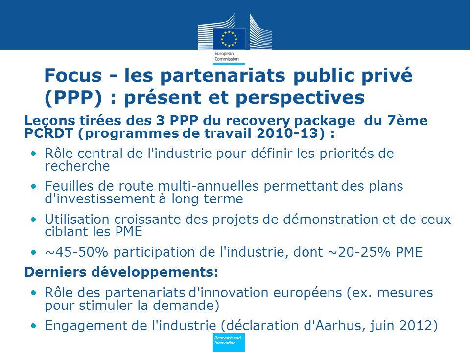 Focus - les partenariats public privé (PPP) : présent et perspectives