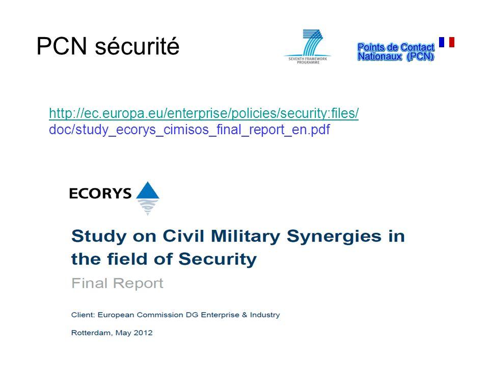 PCN sécurité http://ec.europa.eu/enterprise/policies/security:files/
