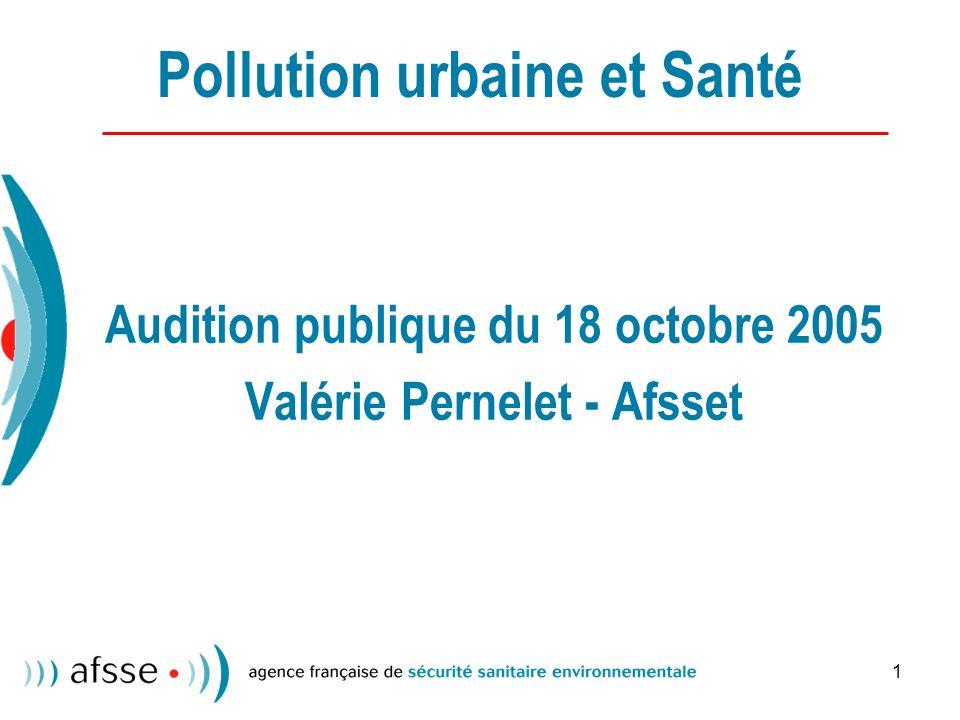 Pollution urbaine et Santé