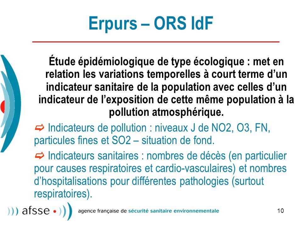 Erpurs – ORS IdF