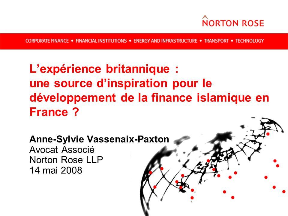L'expérience britannique : une source d'inspiration pour le développement de la finance islamique en France