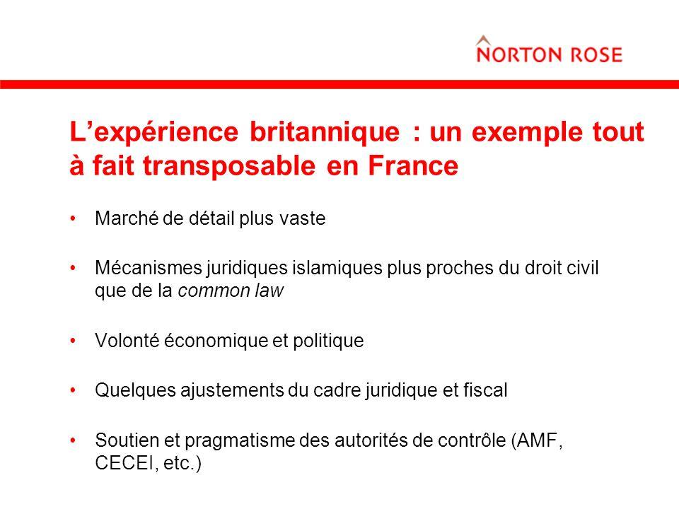 L'expérience britannique : un exemple tout à fait transposable en France
