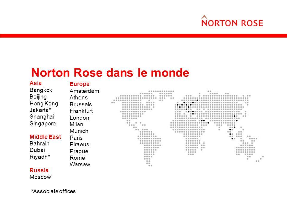 Norton Rose dans le monde