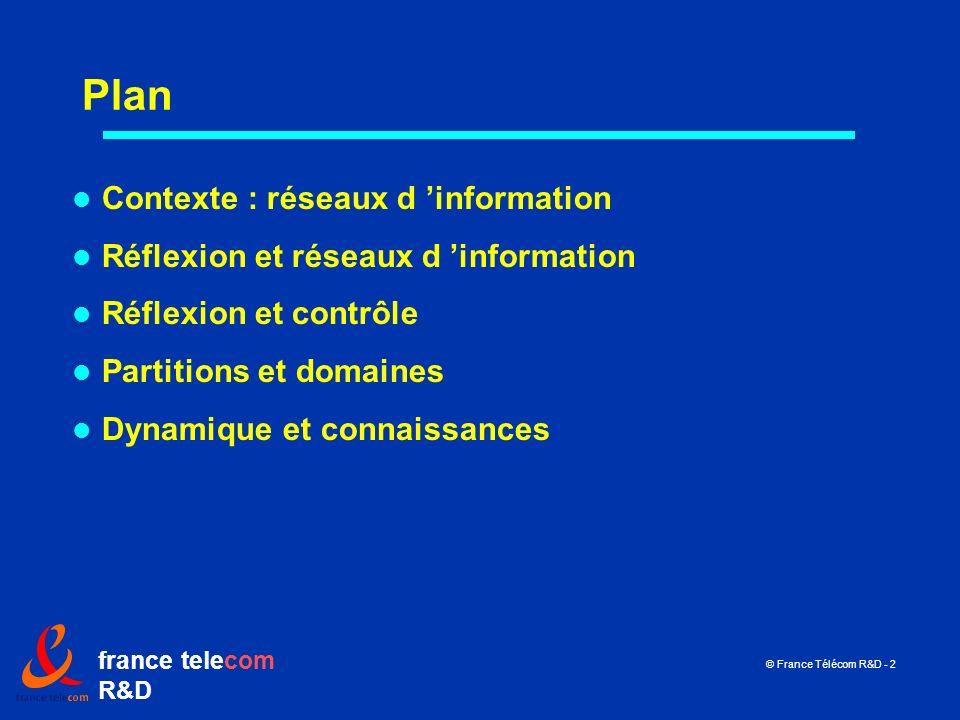 Plan Contexte : réseaux d 'information