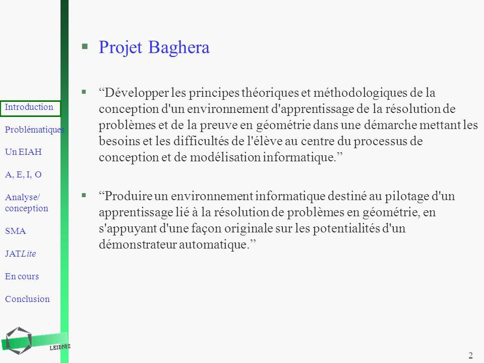 Projet Baghera