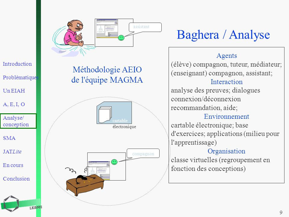 Baghera / Analyse Méthodologie AEIO de l équipe MAGMA Agents