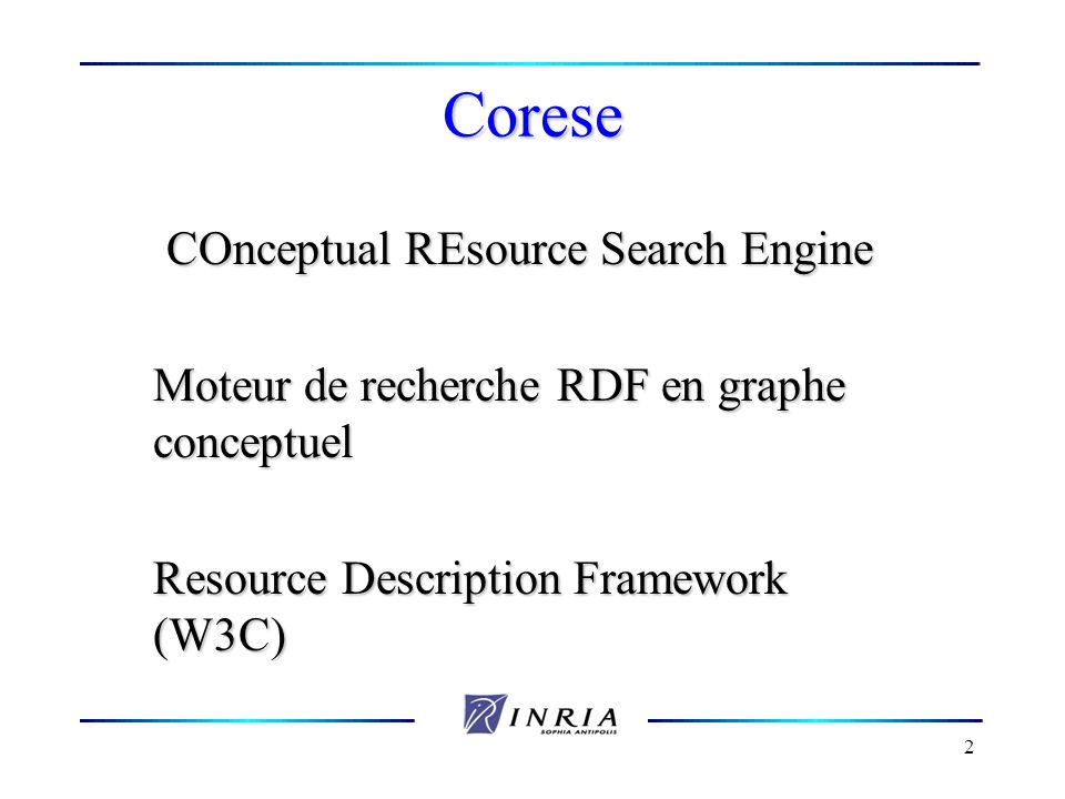 COnceptual REsource Search Engine