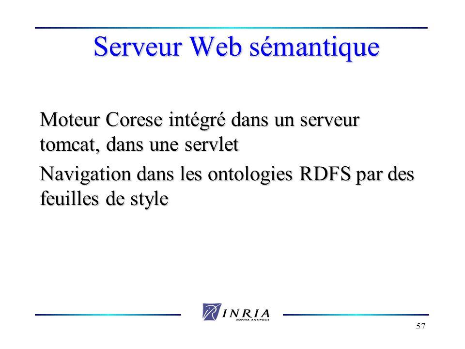 Serveur Web sémantique