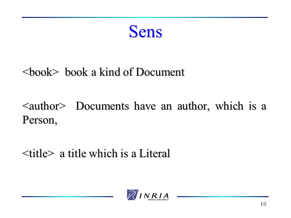 Sens <book> book a kind of Document
