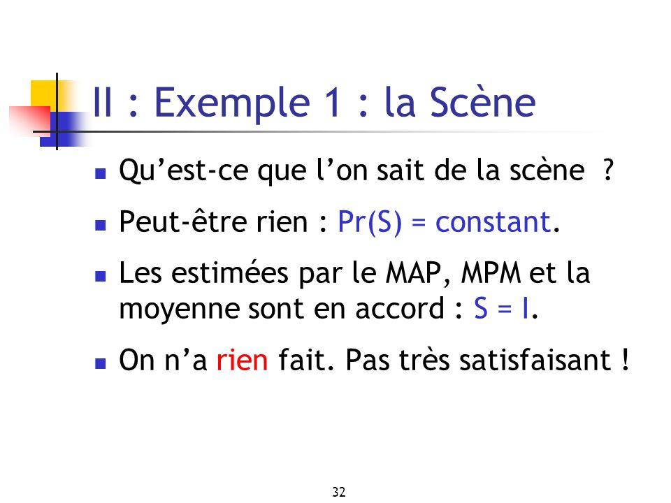 II : Exemple 1 : la Scène Qu'est-ce que l'on sait de la scène